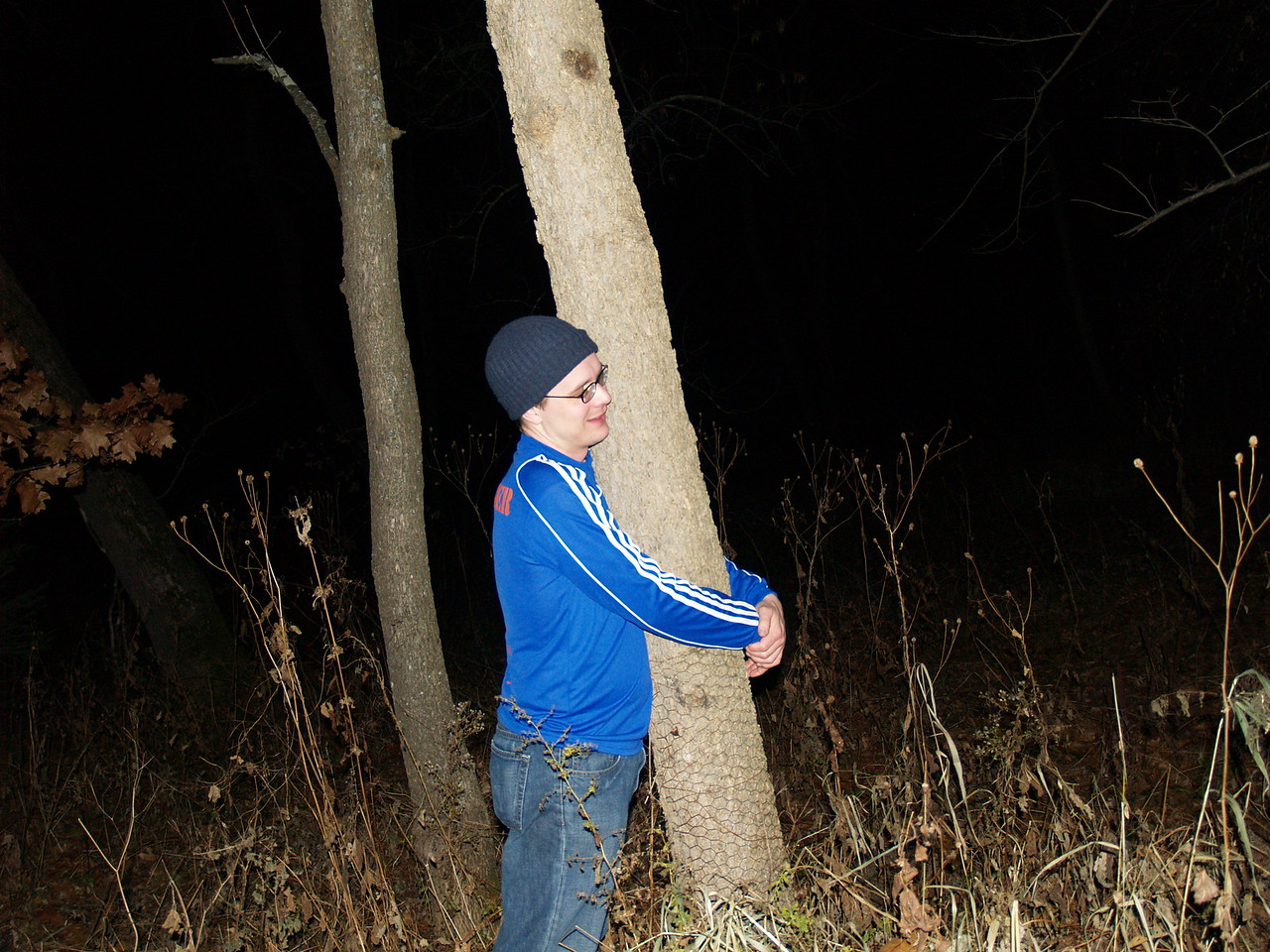 "Peter re-enacts his most infamous BV moment, the moment in 2005 where he earned the nickname ""TreeHugger."""