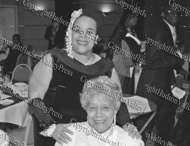 Consuelo Hill with her mother