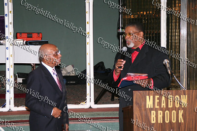 Harvey Burger and Rev Nelson McAllister