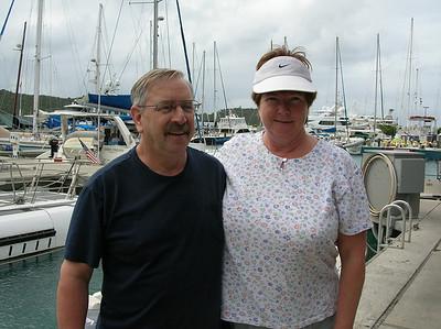 Bernie and Sharon visit USVI