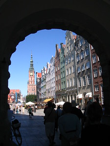 Green Gate view, Gdansk, Poland - Leslie Rowley