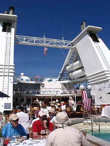 Fourth of July aboard Le Diamant - Leslie Rowley