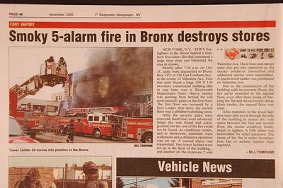 1st Responder Newspaper - NY - November 2006