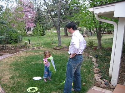Butler's Visit to Boulder 2006 April