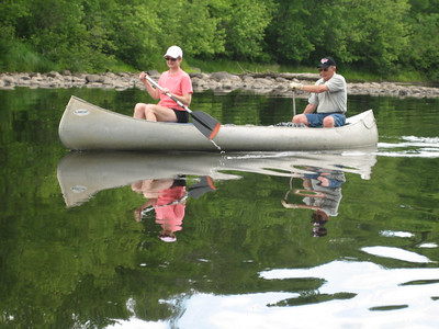 CANOE THE FLAMBEAU RIVER WITH DEB & CLYDE OLSON