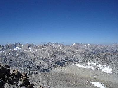 View from the summit of Vagabond Peak.