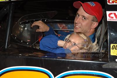 Darren Miller and his daughter