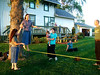 While in Chicago I went to church on Sundays in the nearby town of Genoa.  I made quite a few great friends, and even introduced them to slacklining before I left.