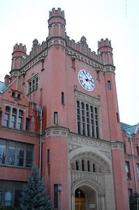 Administration Bldg clocktower (east side).