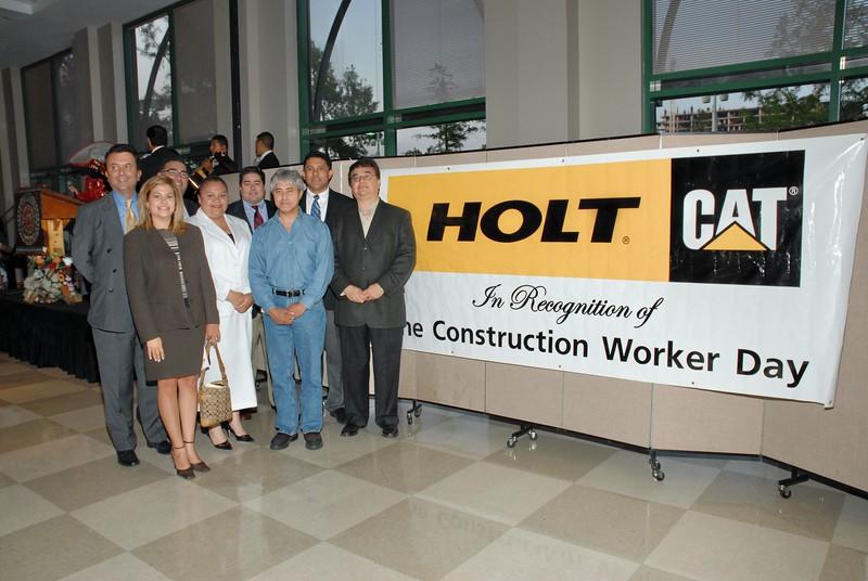 The HCADFW Board, Carlos Garcia de Alba Zepeda, Mexican Consul and HCADFW President John H. Martinez-D.
