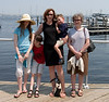 At the aquarium, by Boston Harbor.