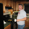 TOM GOMACH SR COOKING UP SOMETHING....NOT SURE WHAT IT WAS, EVEN AFTER WE ATE IT!!!  11/06