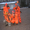 """TOM, TOM, PAUL, & DOUG....WOULD YOU WANT THESE 4 LEAN-MEAN-KILLING- MACHINES CHASING """"YOU""""????  11/06 DEER CAMP."""
