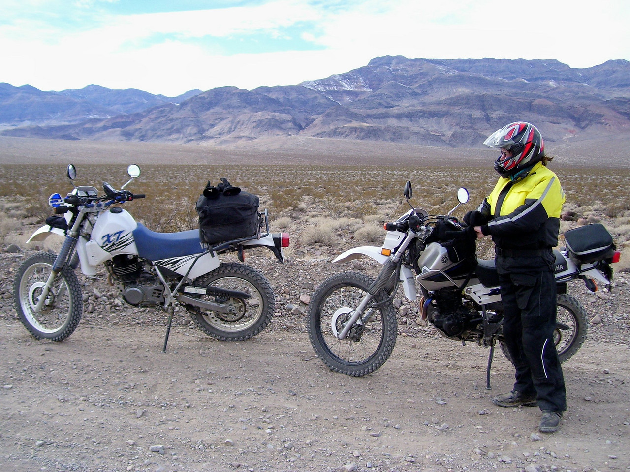 """On the way to the """"Racetrack"""". We did a 191 mile loop on our 40th wedding anniversary."""
