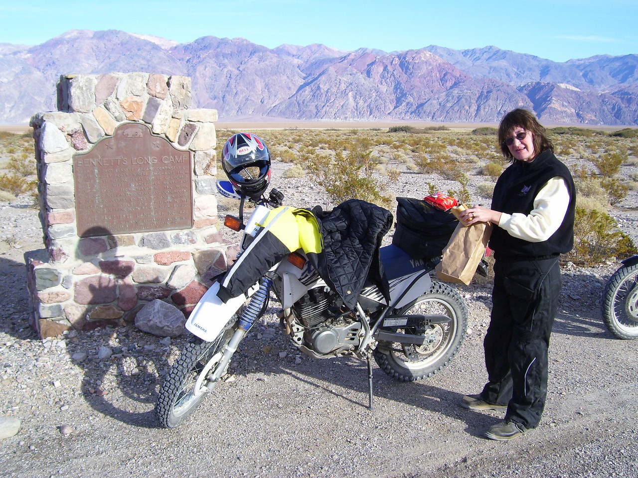 Lunch stop. A party of early settlers nearly starved to death here giving this park it's name Death Valley.