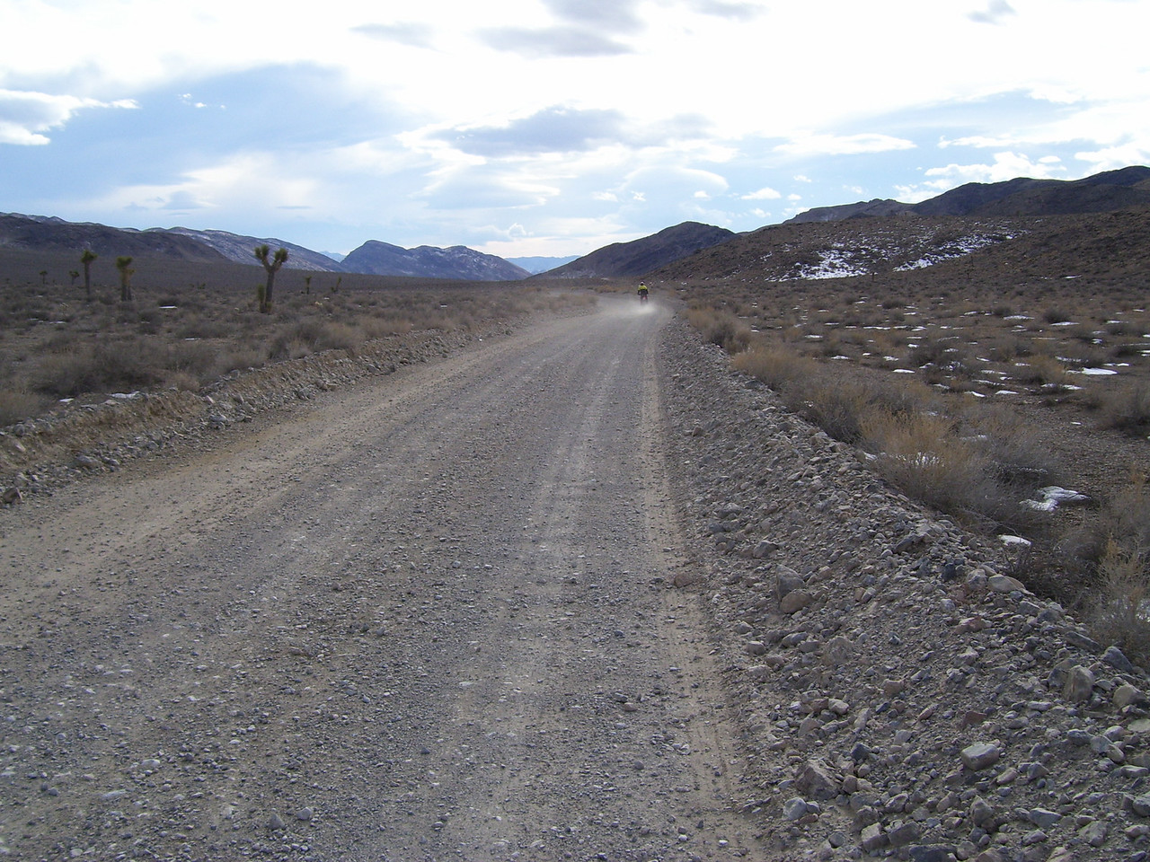 The distances in Death Valley are vast.