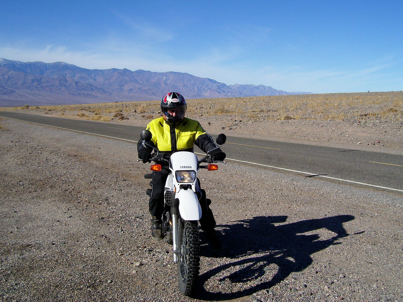 Going South on the Badwater road.