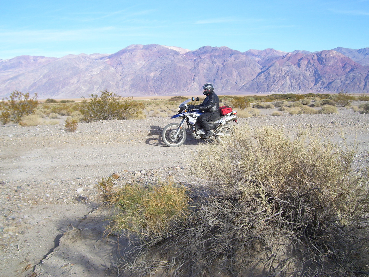 """The BMW """"Dakar"""" worked great. An ideal bike for this type of ridding."""