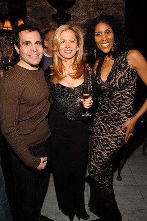 Mario Cantone, Robin Brown and Tanya Wood