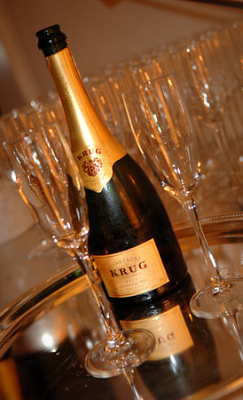 KRUG Escape Artist Trunk Presented by Eric Villency at Special Cocktail Party hosted by Kimberly and Eric Villency