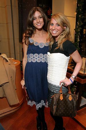 Olivia Palermo and Alexa Susser