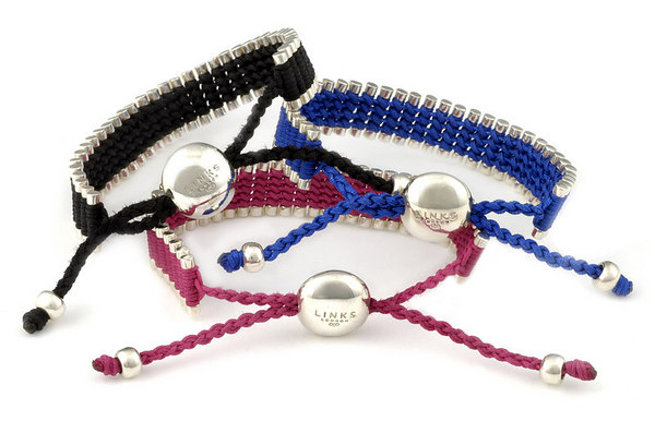 Links of London/NYFC lanyard bracelet to celebrate partnership between Links of London and NYFC