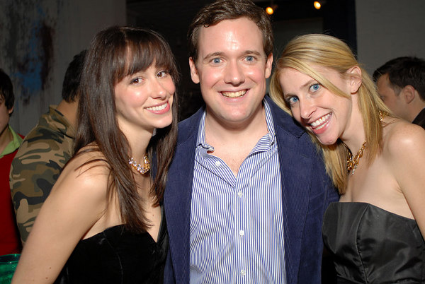 LIZ DURAND, Cece Gehrig and Dave Battle Host Holiday Party at the Battle Loft
