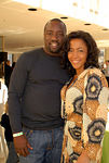 Actor Malik Yoba and Yvonne Doggett-Rhea