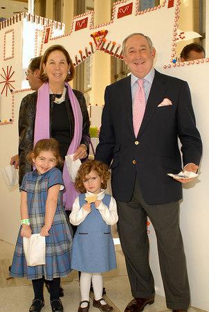 Grandparents Pamela and Edward Pantzer with Amanda Pantzer and Lauren Pantzer