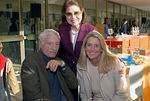 Barbara Block (rear) with Ann & Thomas Unterberg