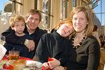 Dr. Andrew Schiff, Wyatt Schiff, Karenna Gore Schiff and Anna Schiff