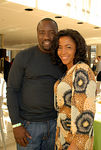 Actor Malik Yoba and Yvonne Doggett Rhea