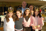 J. Robert Mann, Jr. and his wife Barbara Mann with their granddaughters
