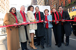 """Ribbon Cutters: <a href=""""http://www.childrensaidsociety.org/about/staff/cwarren_moses_CEO"""">C. Warren Moses</a>, CEO, <a href=""""http://www.childrensaidsociety.org/"""">The Children&#8217;s Aid Society</a>; Tamara Tunie, actress, Law & Order: SVU and As the World Turns; Angela Diaz, M.D., M.P.H, Board President, <a href=""""http://www.childrensaidsociety.org/"""">The Children&#8217;s Aid Society</a>; Kevin Bannon, E.V.P and CIO, <a href=""""http://www.bankofny.com/htmlpages/index.htm"""">The Bank of New York</a>, Joan Khoury, Managing Director and head of Bank of New York's philanthropic activities; Noonie Marx, co-founder, Miracle on Madison Avenue; Matthew Bauer, President, <a href=""""http://www.madisonavenuebid.org/default2.asp"""">Madison Avenue BID</a> at the 20th Annual Miracle on Madison Avenue to Benefit the Children's Aid Society"""
