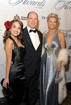 Alexa Ray Joel, HSH Prince Albert II of Monaco & Christie Brinkley at Cipriani for Princess Grace Foundation-USA's 23rd Annual Awards Gala