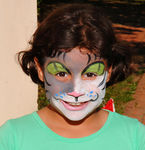 Carolyn Partanio, my daughter  (Parrish Art Museum Family Picnic Day)I love kids with painted faces!