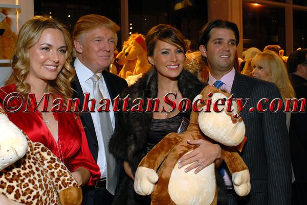 Vanessa Trump, Donald Trump, Melania Trump & Don Trump Jr.