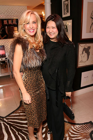 Tracy Stern and Susan Shin