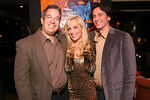 Adam Stern, Tracy Stern and Rick Brochetti