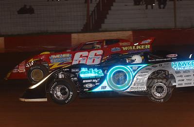 0 Scott Bloomquist and 66 Jake Knowles