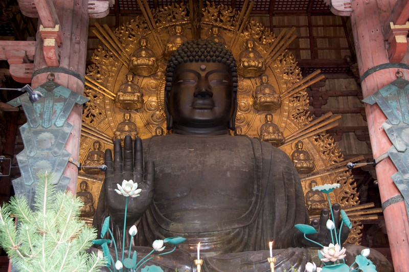 The Buddha at Todai-ji