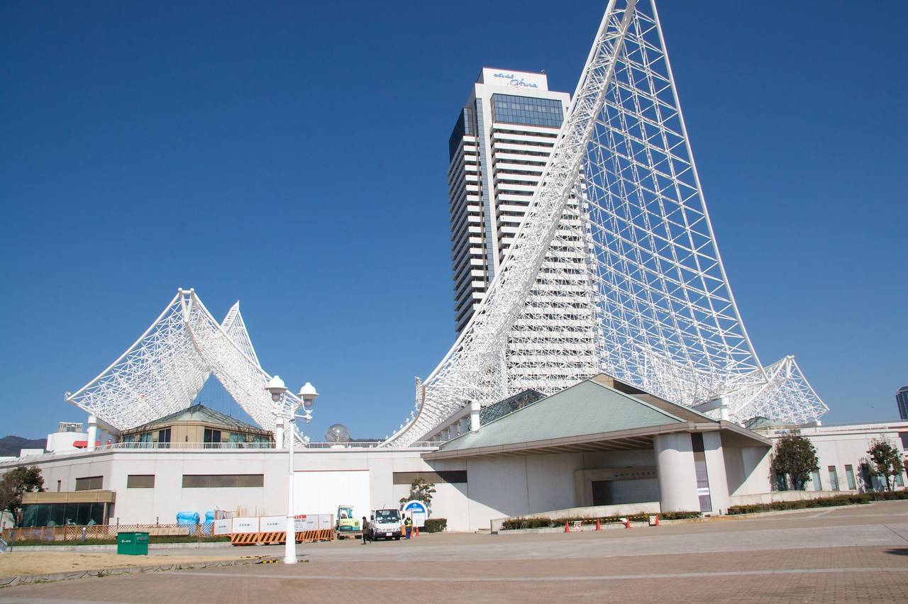 Kobe City Maritime Museum • Kobe City Maritime Museum has a remarkable roof.