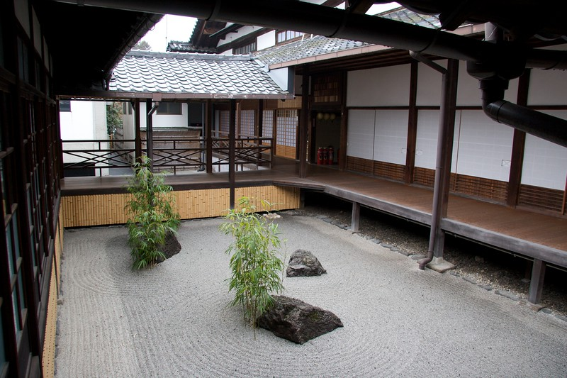 Shokokuji Zen Garden • It's a Zen Buddhist temple, so surely they should have a real-life zen garden, right?