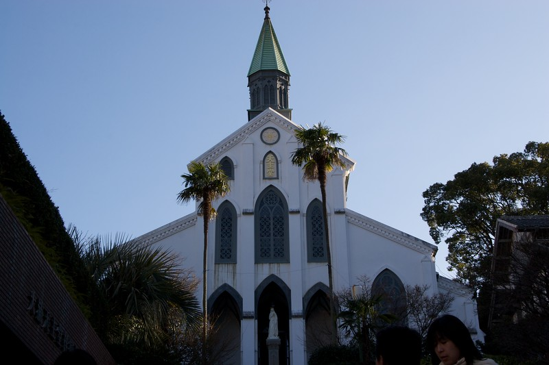 Oura church • Oura church, the oldest church in Japan, is in fact dedicated to the 26 Martyrs of Japan. It is now seemingly little more than a tourist destination.