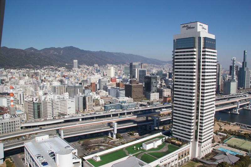 View over Kobe • View over Kobe from Kobe Port Tower.