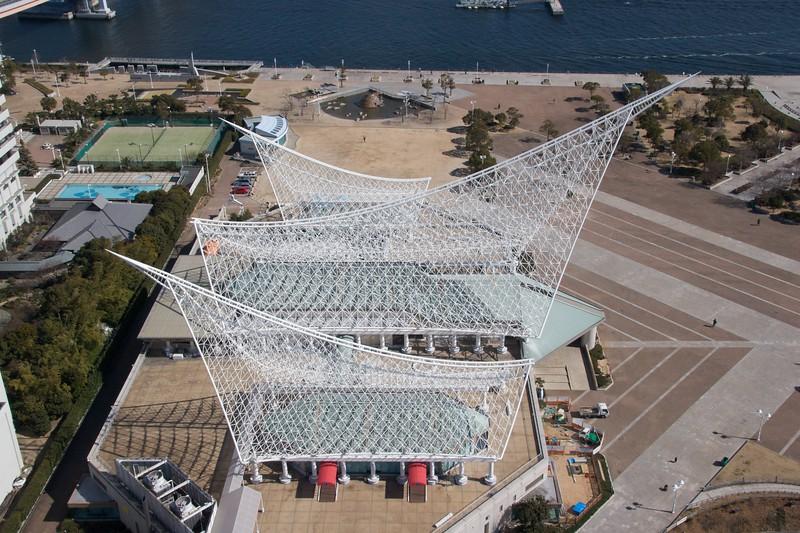 Kobe City Maritime Museum roof