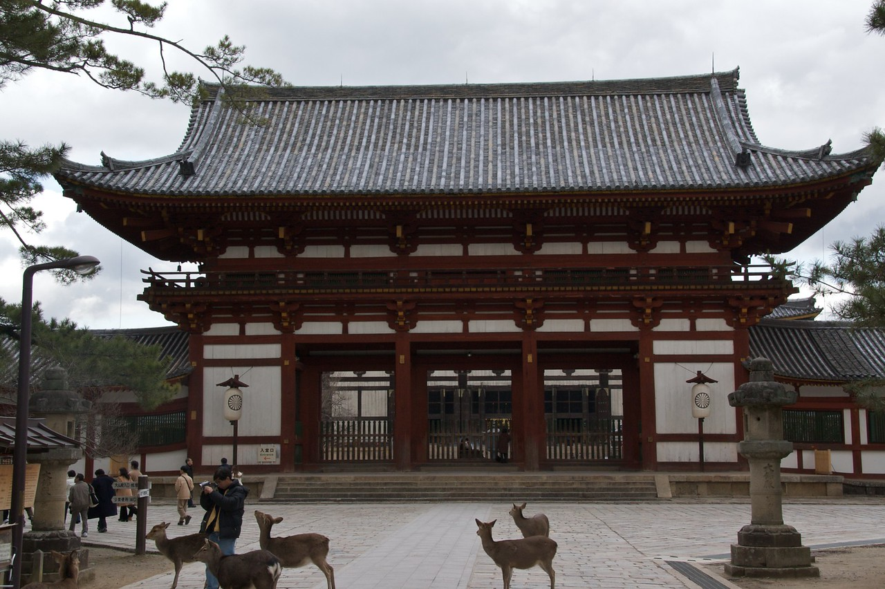 Todai-ji outer gatehouse