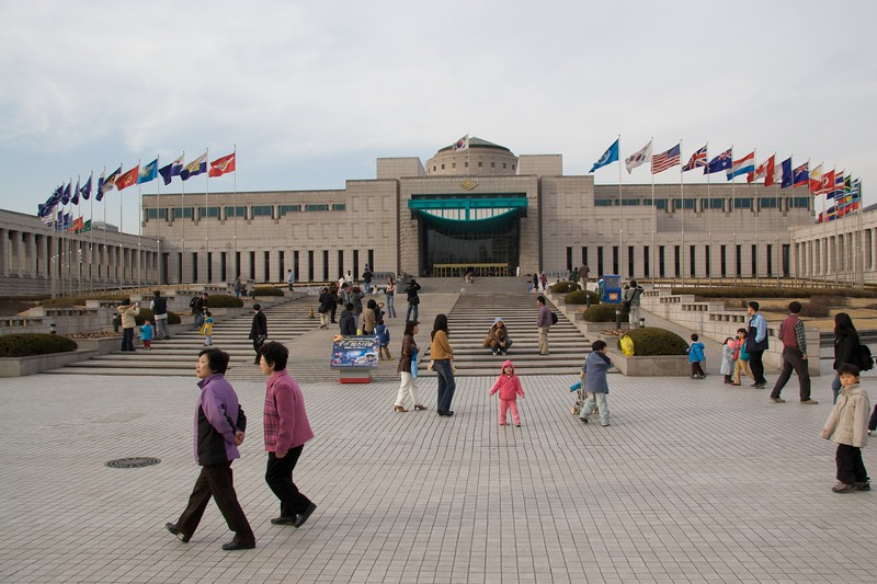 War Memorial Museum • The War Memorial Museum in Seoul.