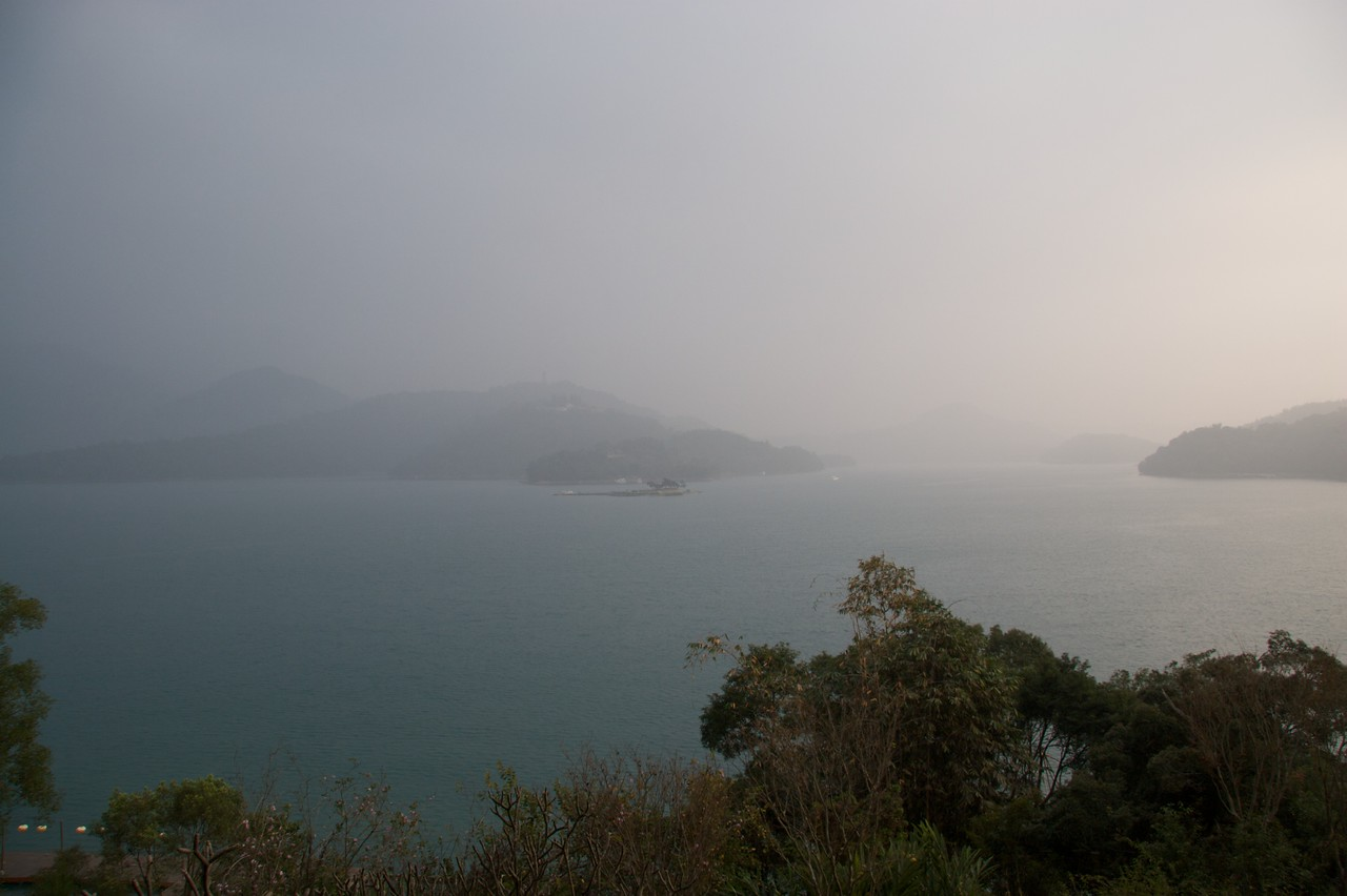 Late afternoon at Sun Moon Lake