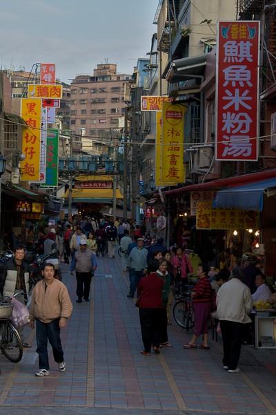 A Taipei lane